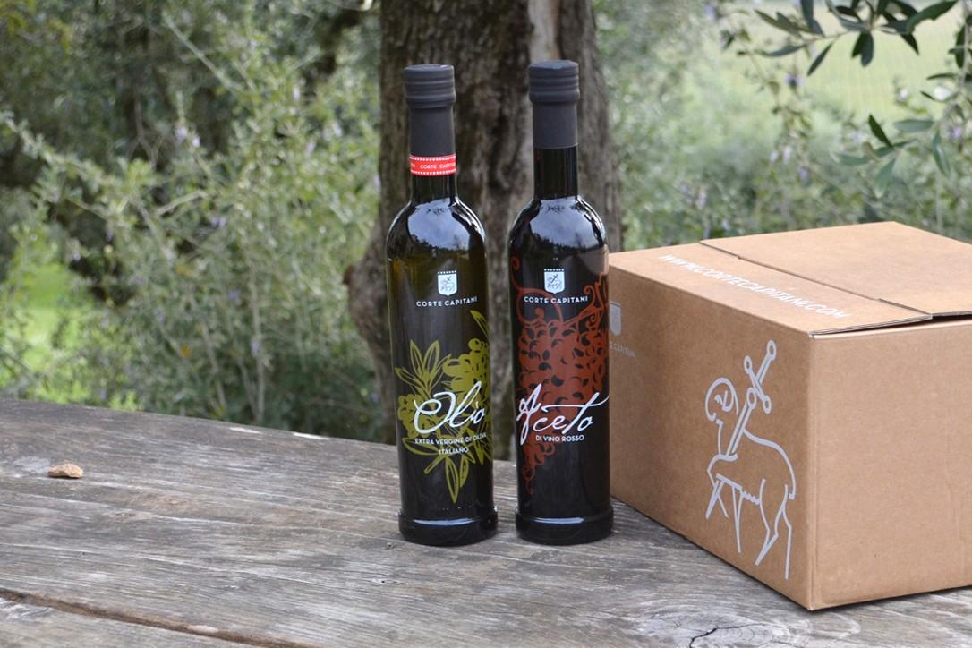Extra Vergine Olive Oil - Corte Capitani